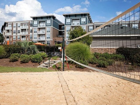 Volleyball Court at Weston Lakeside Apartments, NC, 27513