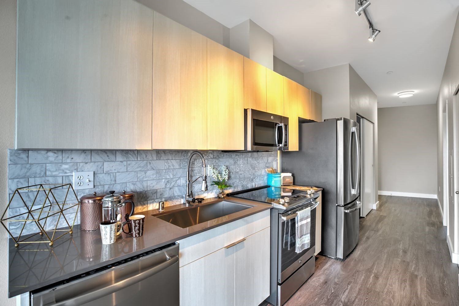 Chef-Inspired Kitchen Design at Mural, Seattle, Washington