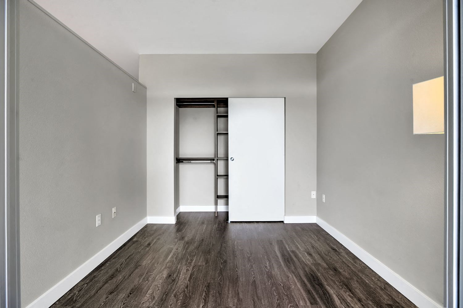 Model Unit- Large Walk-In Closet at Mural, Washington, 98116