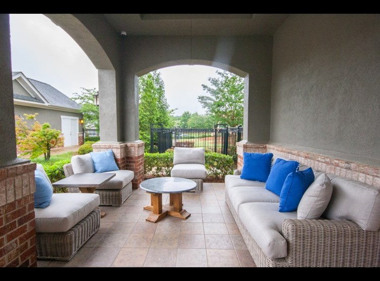 Covered Outdoor Lounge at Mandalay Villas, 1395 Towne Centre Village Dr, 30253