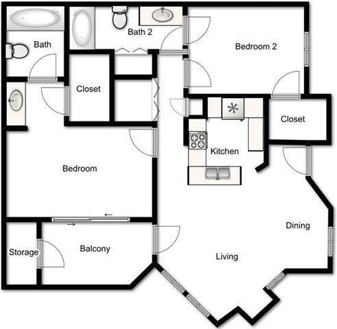 Renaissance Floor Plan 5