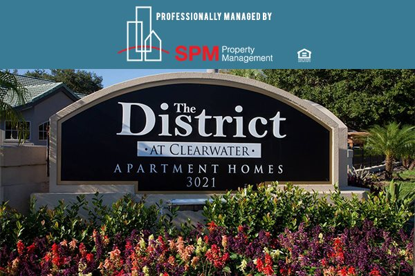 The District at Clearwater, Clearwater, FL, 33759 professionally managed by SPM, LLC