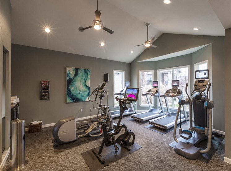 Harpeth River Oaks Apartments in Franklin, TN - Fitness Center