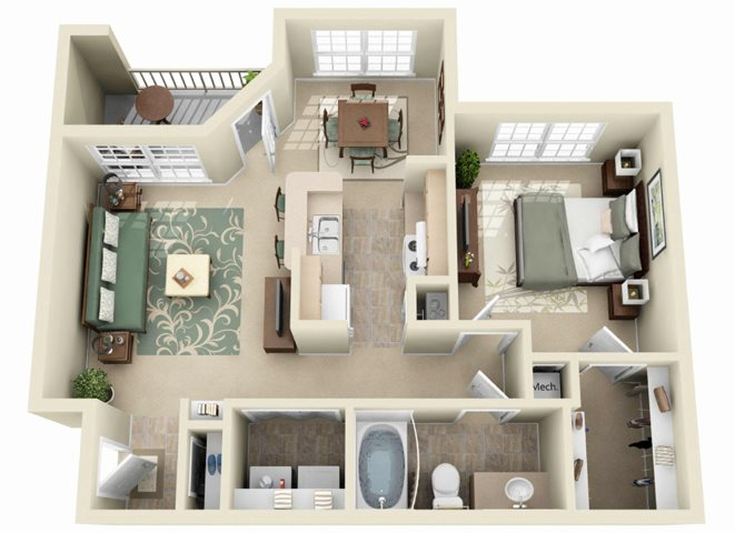 The Sycamore Floor Plan 2