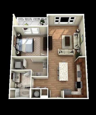 Biltmore Floor Plan at Berkshire Main Street, North Carolina, 27705