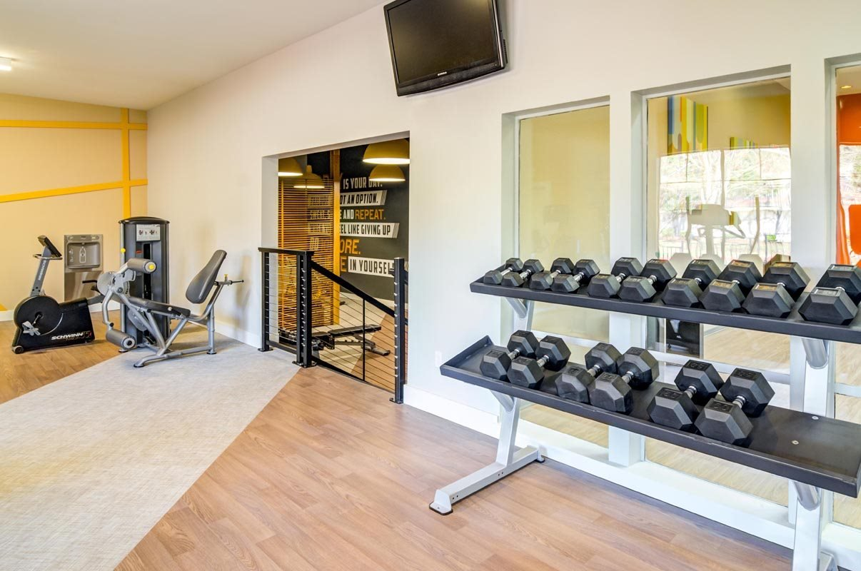Fully Equipped Fitness Center at Montevista