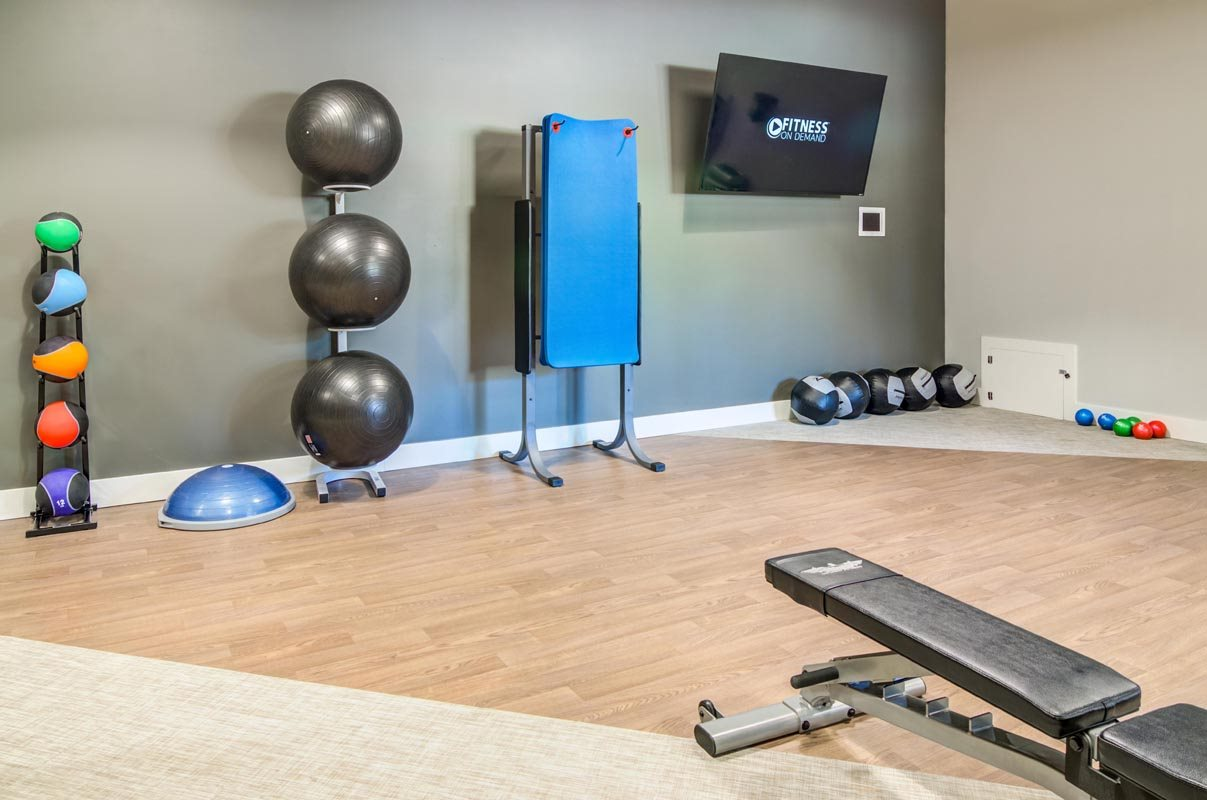 Spacious Fitness Center at Montevista