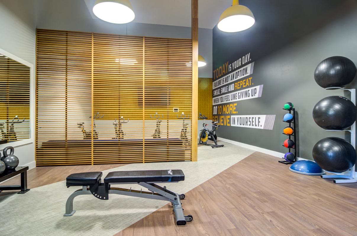 Generously Sized Fitness Center at Montevista