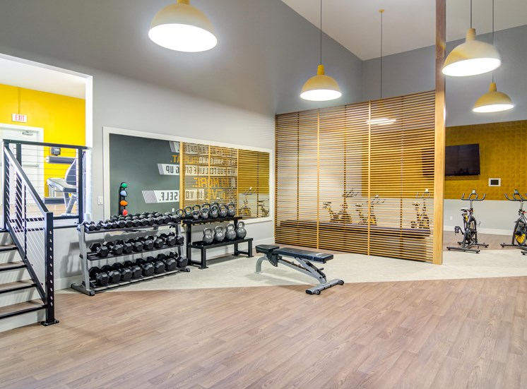 Fully Equipped Fitness Center at MonteVista at MurrayHill, Oregon, 97007