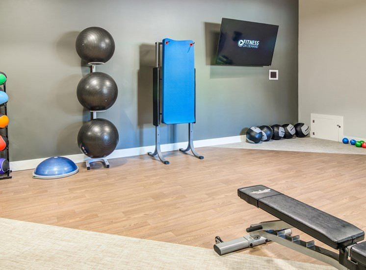 Equipped Fitness Centerv at MonteVista at MurrayHill, Beaverton, OR, 97007