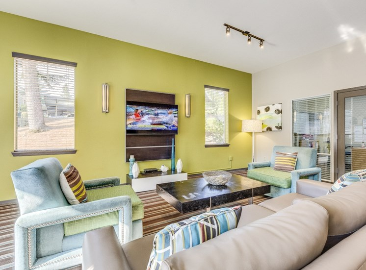 Spacious Living Room at Montevista at Murrayhill, 14900 SW Scholls Ferry Road, Beaverton, 97007