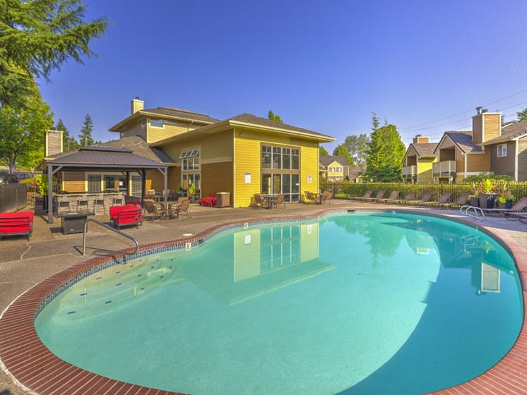Outdoor Swimming Pool at Montevista at Murrayhill, 14900 SW Scholls Ferry Road, Beaverton, 97007