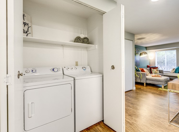 In-home Washer and Dryer  at Montevista at Murrayhill, 14900 SW Scholls Ferry Road, Beaverton, 97007
