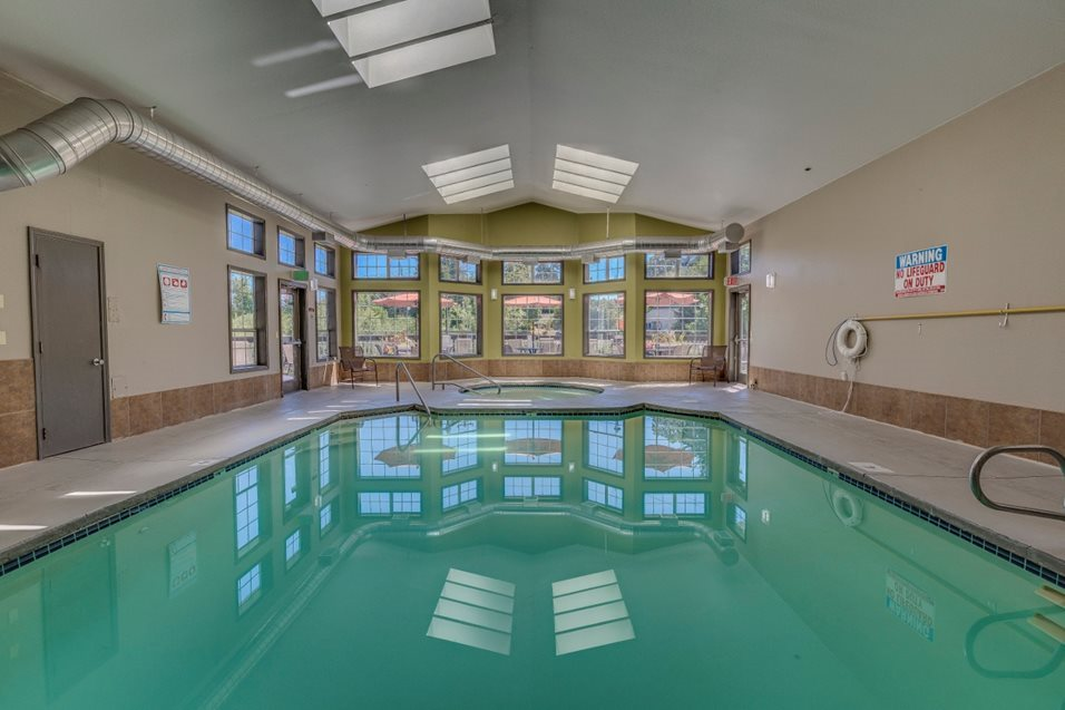 Indoor Swimming Pool at Cedar Crest, 4800 SW Mueller Drive, Beaverton, OR 97078