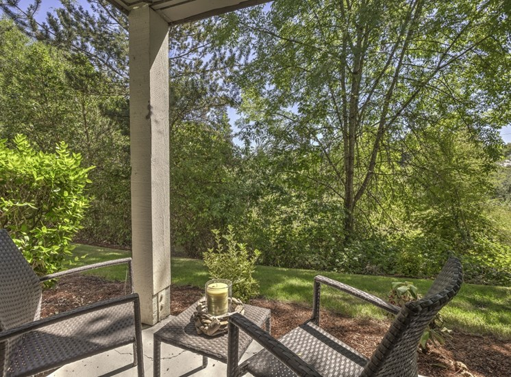 Private Patio/ balcony at Cedar Crest, 4800 SW Mueller Drive, Beaverton
