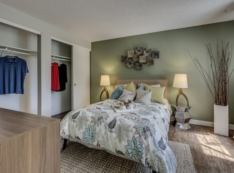 Private Master Bedroom With Extra Storage at Cedar Crest, 4800 SW Mueller Drive, OR