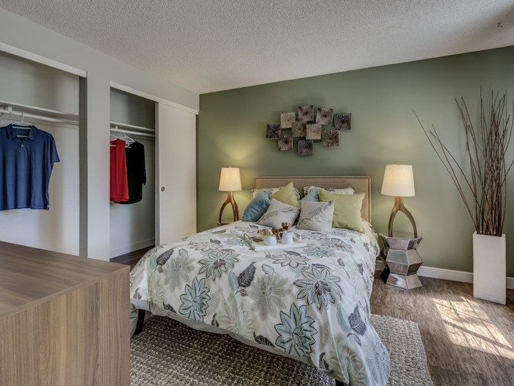 Private Master Bedroom With Extra Storage
