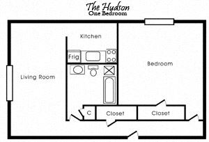 The Hudson (One Bedroom)