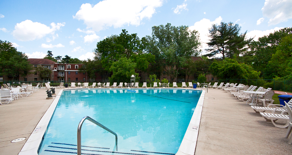 The Brittany Luxury Apartments Pool