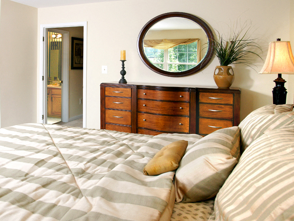 Carlson Woods Townhome Bedroom