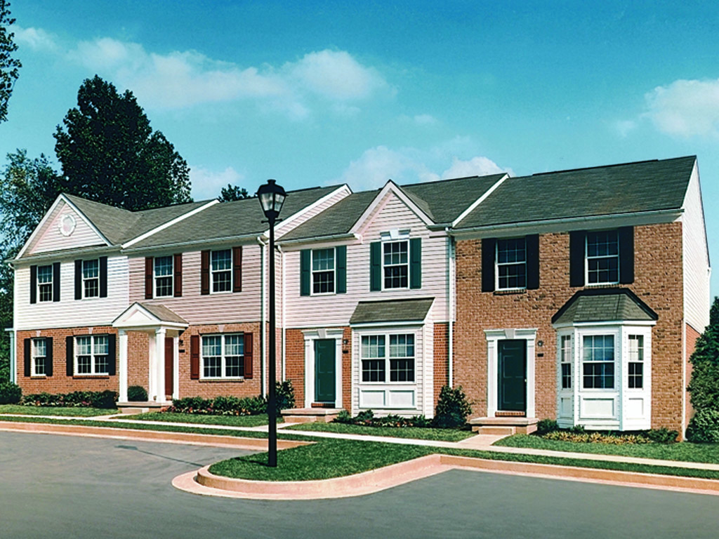 Front Exterior Carlson Woods Townhomes