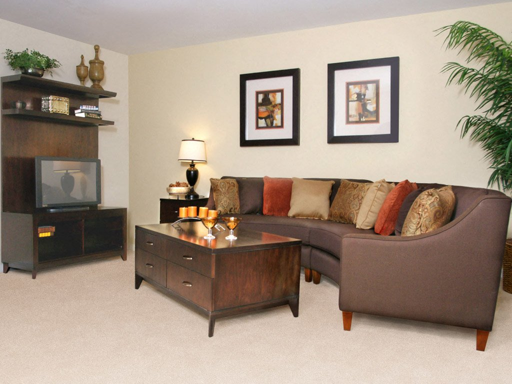 Carlson Woods Townhome living room