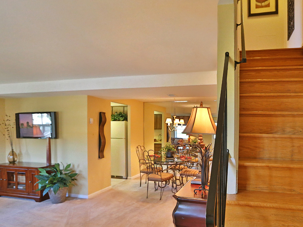 Chapel Valley Townhomes Interior Entrance
