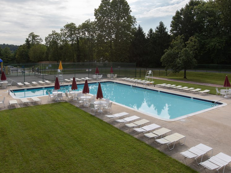 Private Swimming Pool, at Cromwell Valley Apartments, 15 Treeway Court, 2A, MD
