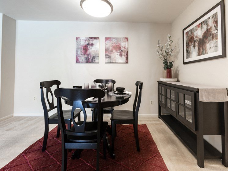 Eat-In Kitchen with Pantry, at Cromwell Valley Apartments, 15 Treeway Court, 2A, MD