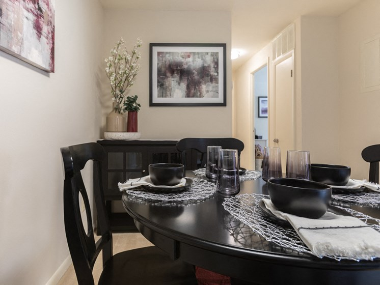 Fully Equipped Kitchens and Dining, at Cromwell Valley Apartments, 21286, MD