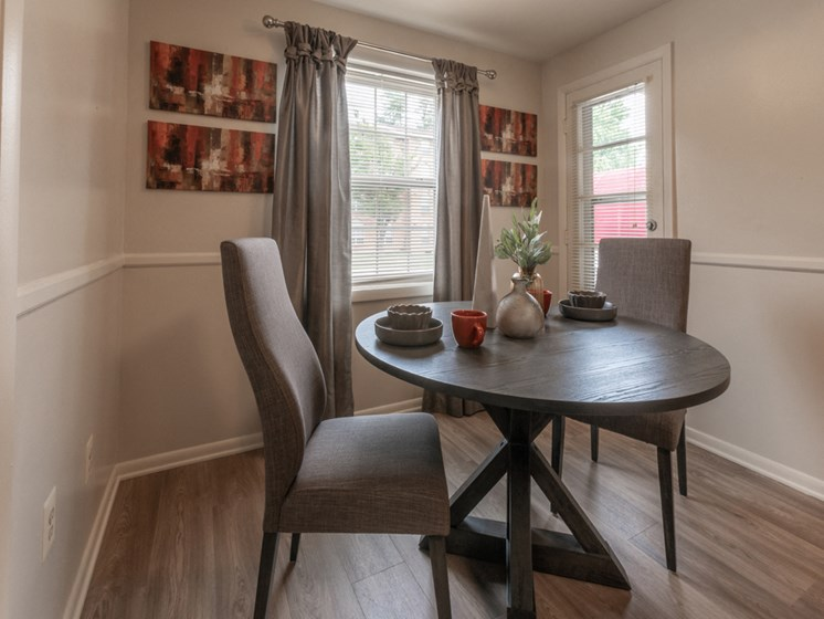 Contemporary Dining Room, at Cromwell Valley Apartments, Towson, MD
