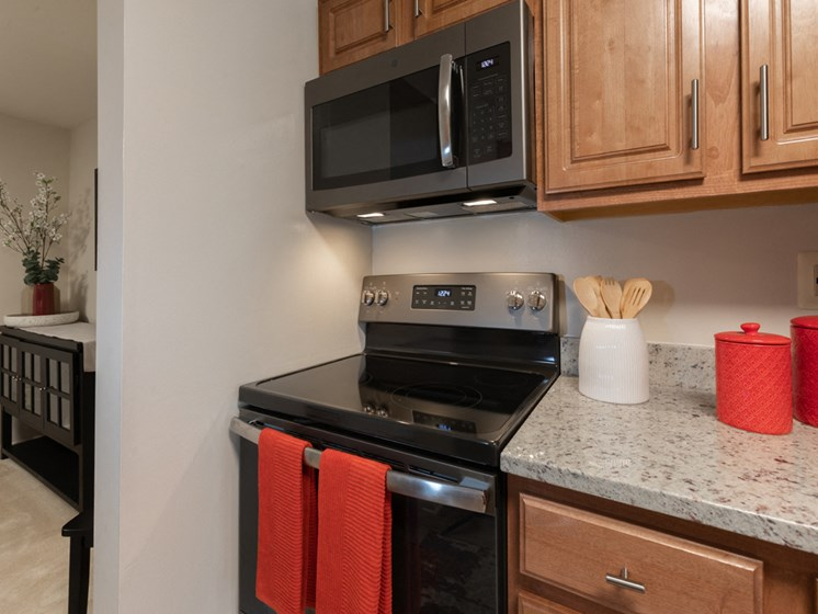 Granite Countertops With Deep Sink, at Cromwell Valley Apartments, 15 Treeway Court, 2A, Towson