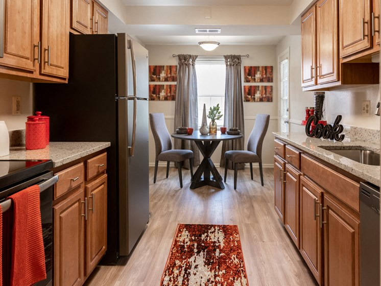 Eat-In Kitchen with Pantry, at Cromwell Valley Apartments, Towson, MD