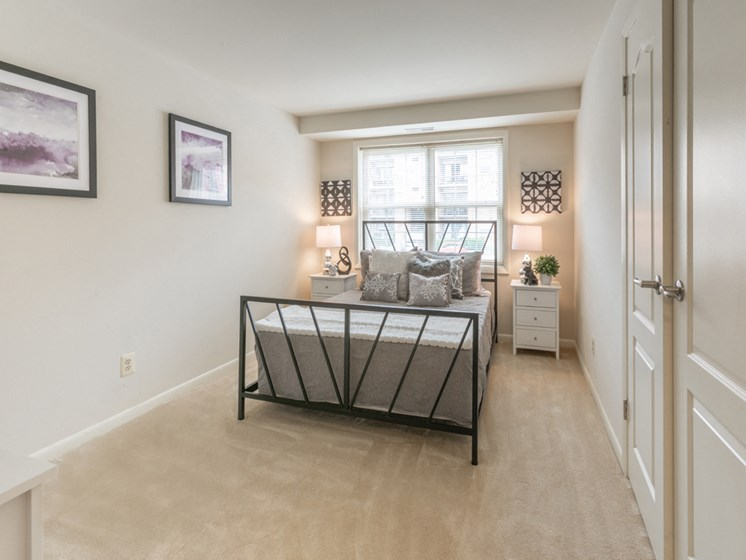 Comfortable Bedroom With Large Closet, at Cromwell Valley Apartments, Maryland, 21286