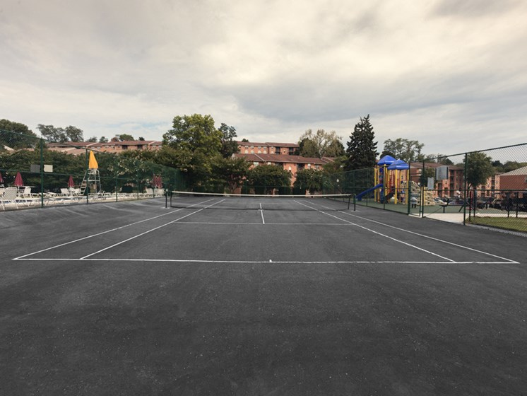 Full Sized Tennis Court, at Cromwell Valley Apartments, Towson, 21286