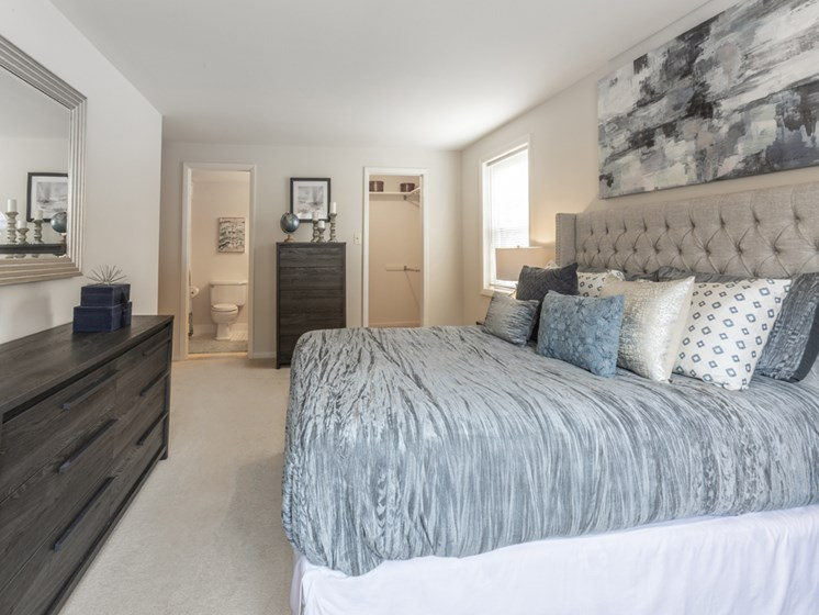 Master Bedroom With Adequate Storage, at Cromwell Valley Apartments, 21286, MD