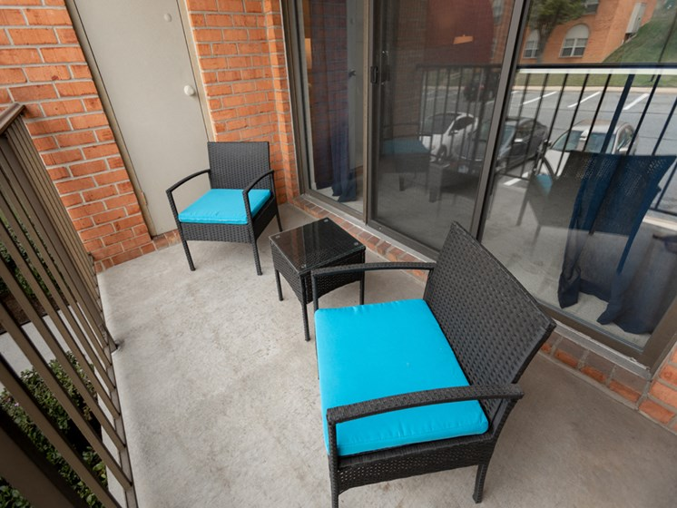 Private Balcony or Terrace, at Cromwell Valley Apartments, Towson, 21286