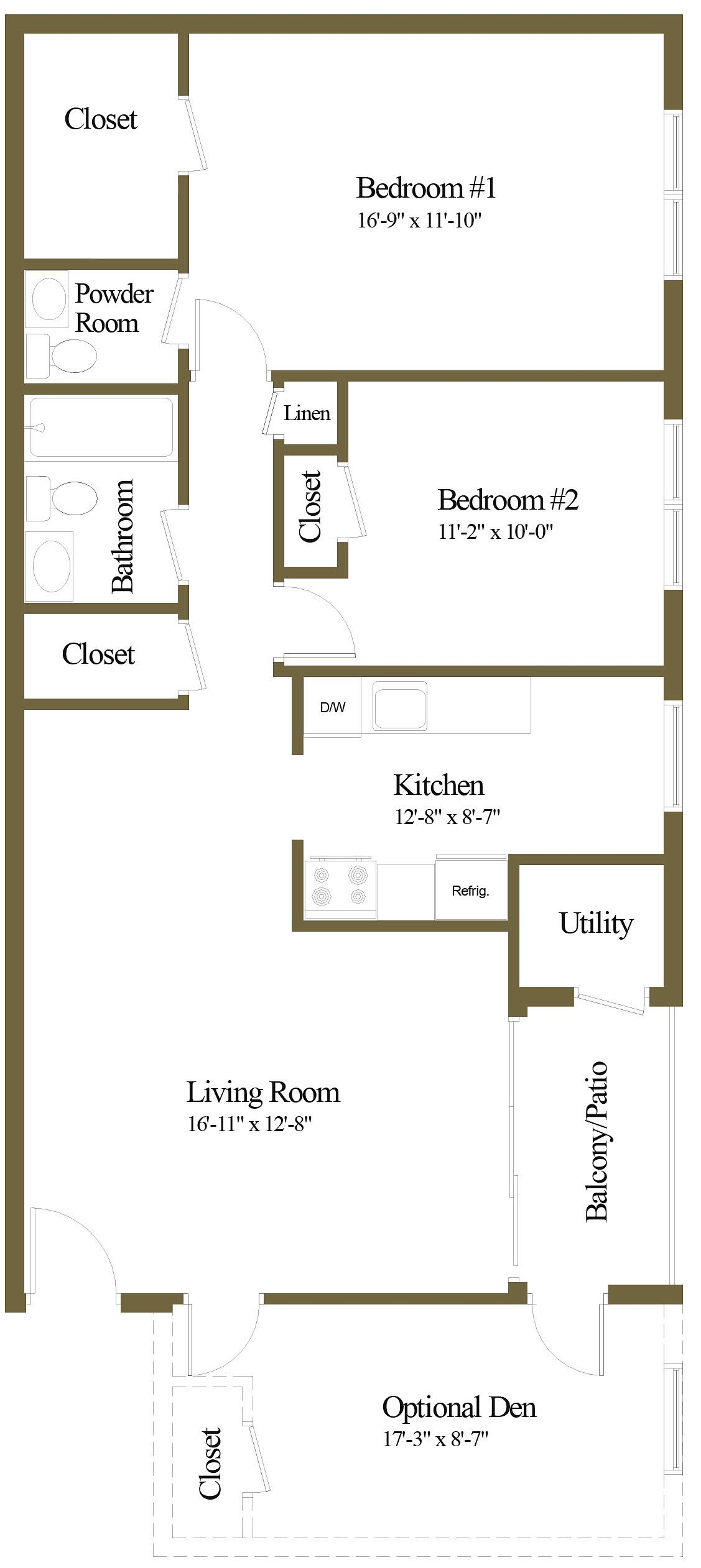 floor plans of pine run apartments in baltimore, md