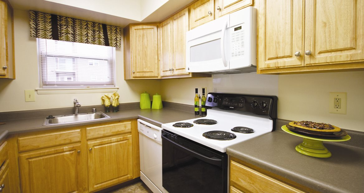 Over-the-Range Microwaves at Woodsdale Apartments, Abingdon, MD, 21009