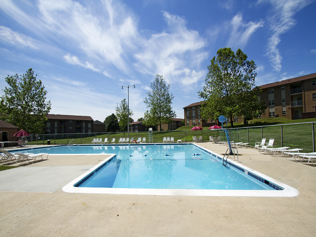 Private Swimming Pool at Woodsdale Apartments, 102 Waldon Road, D, Abingdon, MD, 21009
