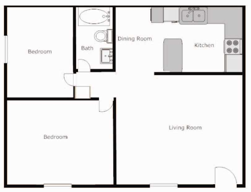 Floor plans of sage point apartments in las vegas nv for Sage floor plan