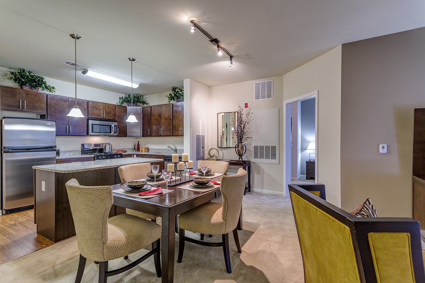 Large Living Spaces at The Reserve at Riverdale Apartments in Riverdale, NJ