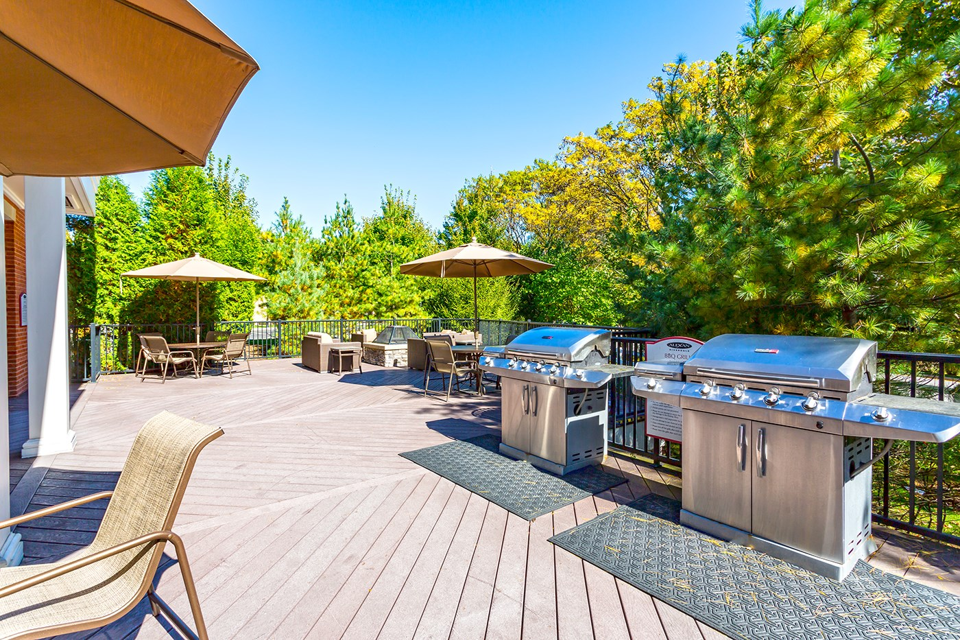 Grills at The Reserve at Riverdale Apartments in Riverdale, NJ