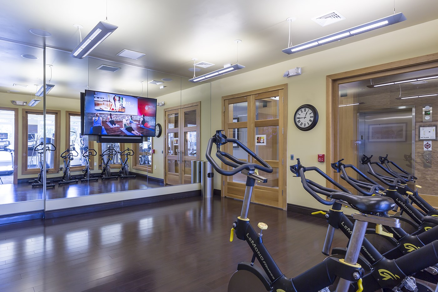 Fitness Center at The Reserve at Riverdale Apartments in Riverdale, NJ