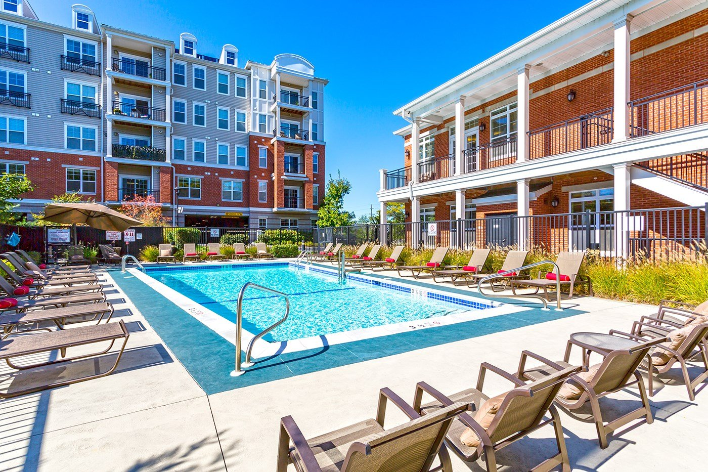 Swimming Pool at The Reserve at Riverdale Apartments in Riverdale, NJ
