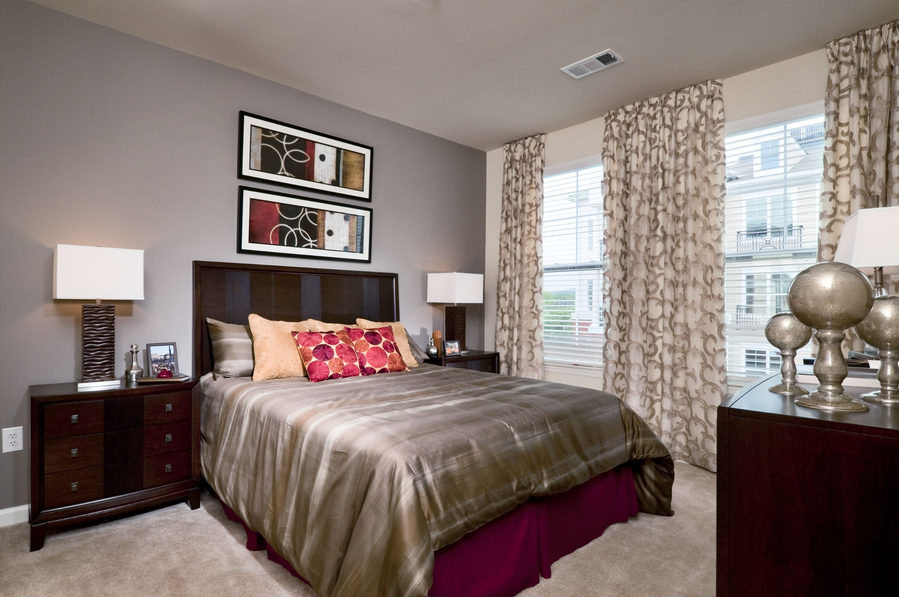Bedroom at The Reserve at Riverdale Apartments in Riverdale, NJ