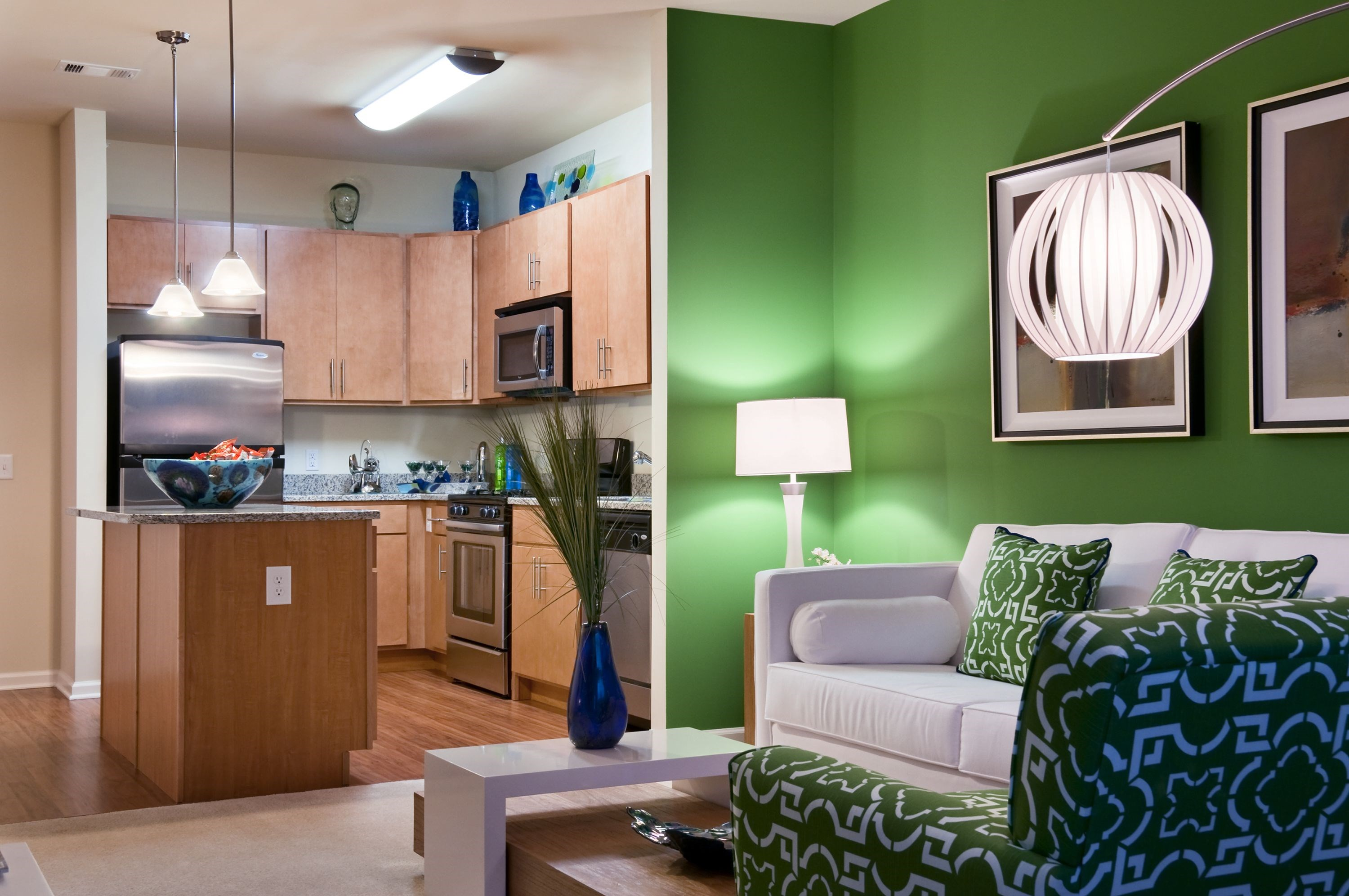 Open Living Spaces at The Reserve at Riverdale Apartments in Riverdale, NJ