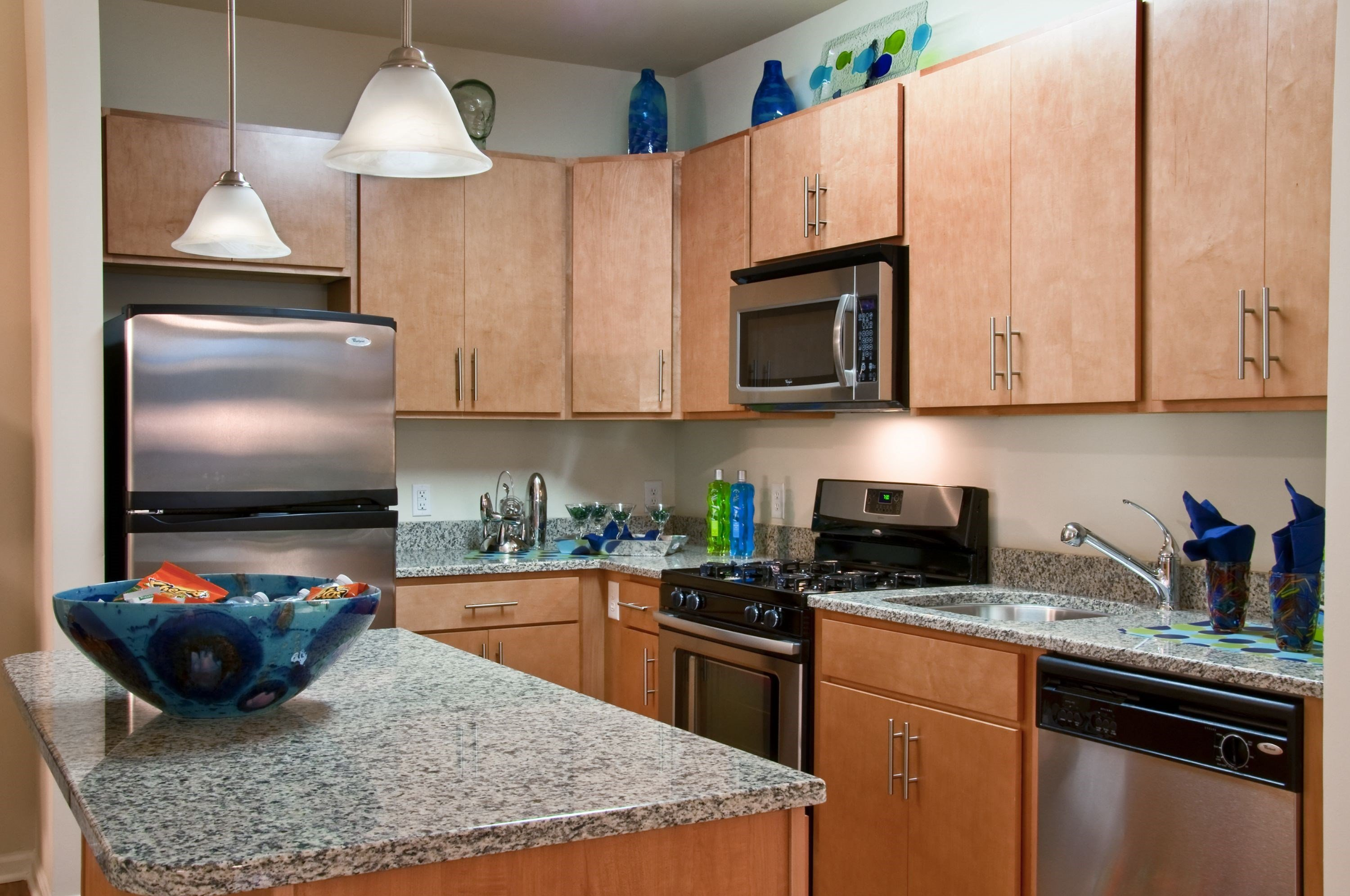 Kitchen at The Reserve at Riverdale Apartments in Riverdale, NJ