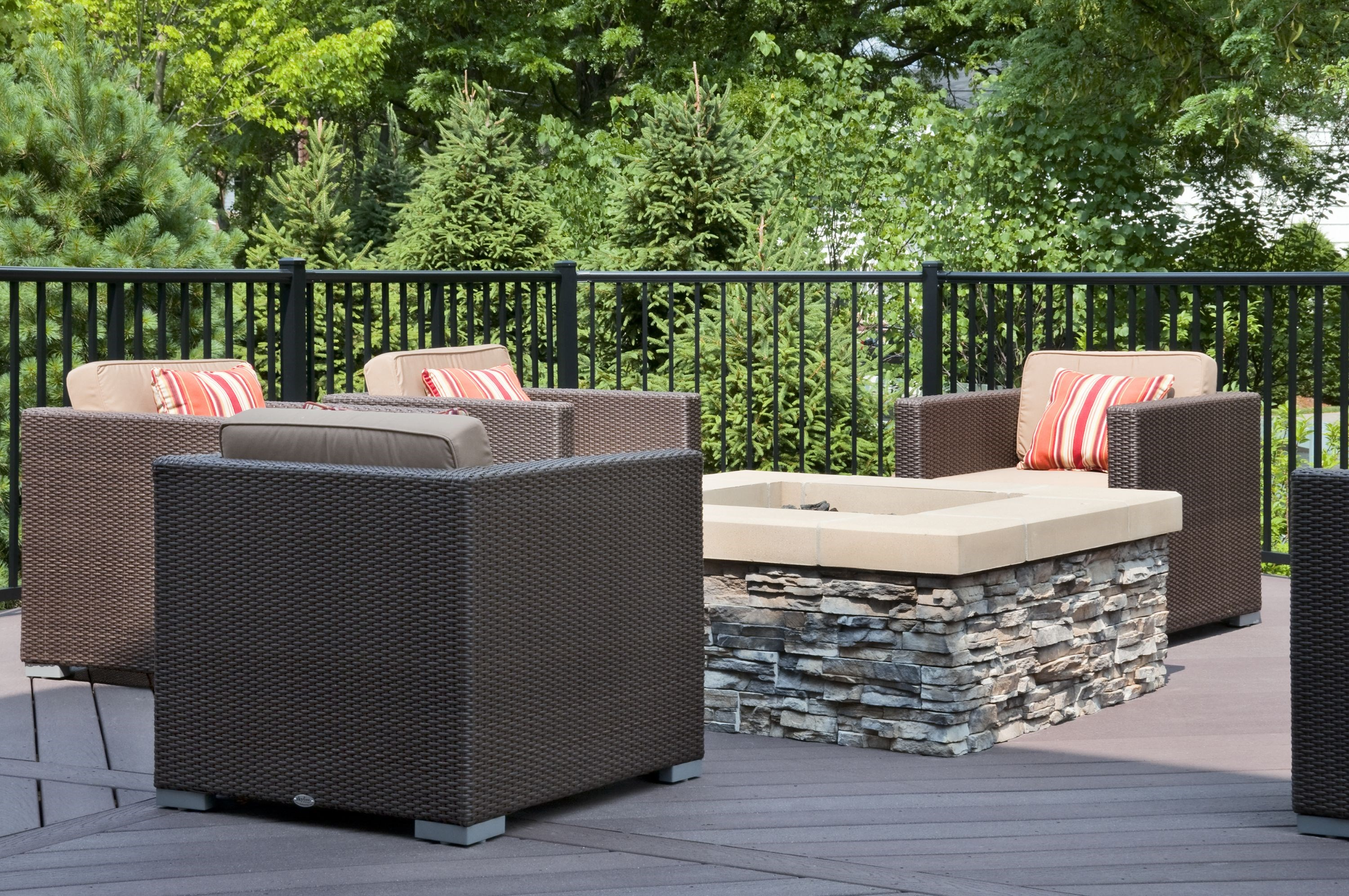 Fire Pit at The Reserve at Riverdale Apartments in Riverdale, NJ