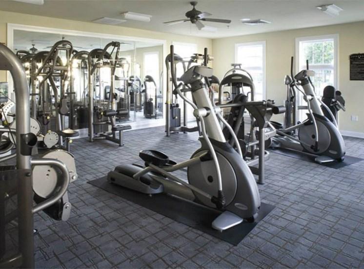 Fitness Center with Peloton Bikes
